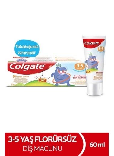 Colgate Colgate 3-5 Yaş Arası Flörürsüz Çocuk Diş Macunu 60 Ml Renksiz